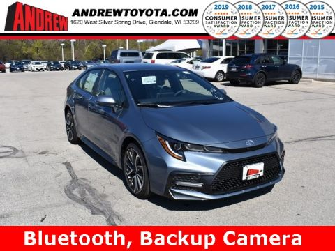 Stock #: 37765 Gray 2020 Toyota Corolla SE 4D Sedan in Milwaukee, Wisconsin 53209