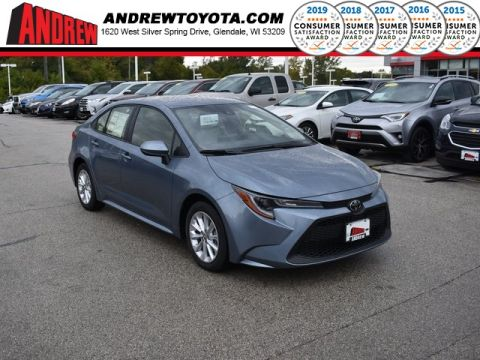 Stock #: 38749 Celestite 2020 Toyota Corolla LE 4D Sedan in Milwaukee, Wisconsin 53209