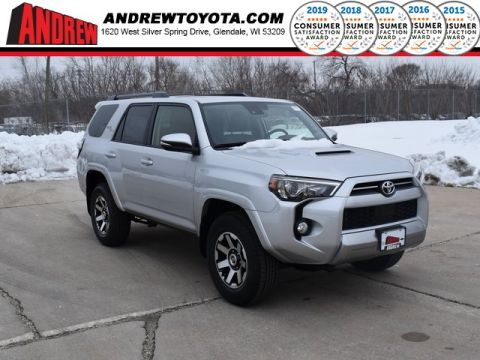 Stock #: 39107 Classic Silver Metallic 2020 Toyota 4Runner TRD Off-Road Premium 4D Sport Utility in Milwaukee, Wisconsin 53209