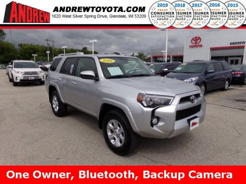 Stock #: 38162A Silver 2016 Toyota 4Runner SR5 4D Sport Utility in Milwaukee, Wisconsin 53209