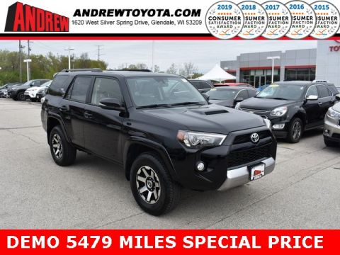 Stock #: 36965 Black 2019 Toyota 4Runner TRD Off-Road Premium 4D Sport Utility in Milwaukee, Wisconsin 53209