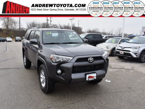 Stock #: 37324 Gray 2019 Toyota 4Runner SR5 Premium 4D Sport Utility in Milwaukee, Wisconsin 53209