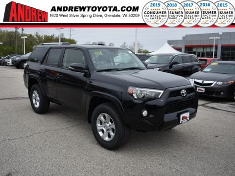 Stock #: 38026 Black 2019 Toyota 4Runner SR5 Premium 4D Sport Utility in Milwaukee, Wisconsin 53209