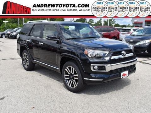 Stock #: 38407 Black 2019 Toyota 4Runner Limited 4D Sport Utility in Milwaukee, Wisconsin 53209