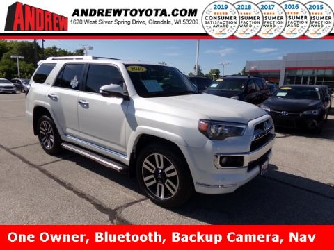 Stock #: TL9972 White 2016 Toyota 4Runner Limited 4D Sport Utility in Milwaukee, Wisconsin 53209