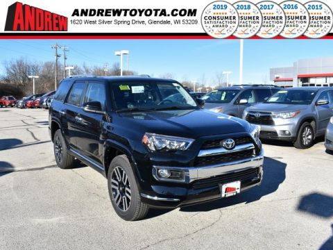 Stock #: 37367 Black 2019 Toyota 4Runner Limited 4D Sport Utility in Milwaukee, Wisconsin 53209