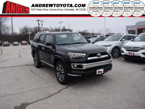 Stock #: 37476 Black 2019 Toyota 4Runner Limited 4D Sport Utility in Milwaukee, Wisconsin 53209