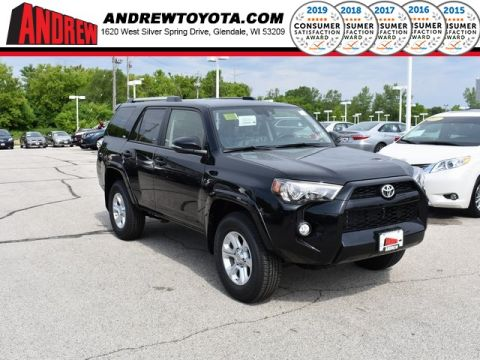 Stock #: 38140 Black 2019 Toyota 4Runner SR5 Premium 4D Sport Utility in Milwaukee, Wisconsin 53209