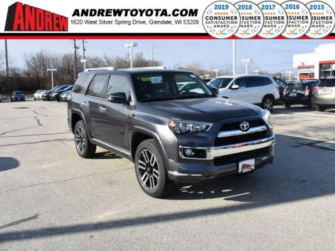 Stock #: 37446 Gray 2019 Toyota 4Runner Limited 4D Sport Utility in Milwaukee, Wisconsin 53209