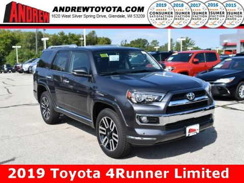 Stock #: 38620 Gray 2019 Toyota 4Runner Limited 4D Sport Utility in Milwaukee, Wisconsin 53209