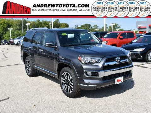 Stock #: 38620 Magnetic Gray Metallic 2019 Toyota 4Runner Limited 4D Sport Utility in Milwaukee, Wisconsin 53209