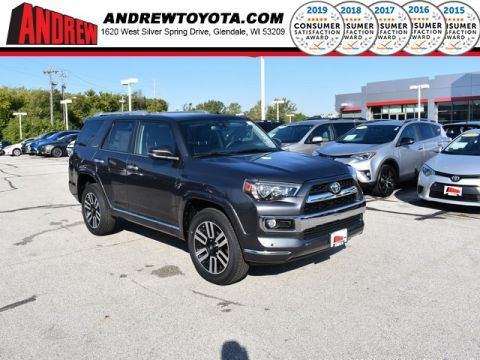 Stock #: 38674 Magnetic Gray Metallic 2019 Toyota 4Runner Limited 4D Sport Utility in Milwaukee, Wisconsin 53209
