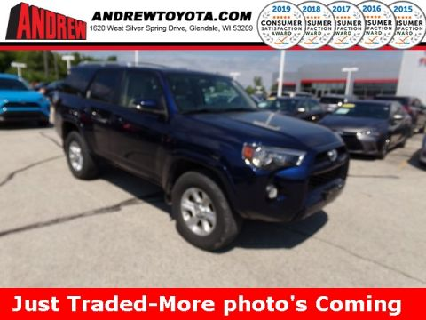 Stock #: 38324A Blue 2016 Toyota 4Runner SR5 Premium 4D Sport Utility in Milwaukee, Wisconsin 53209