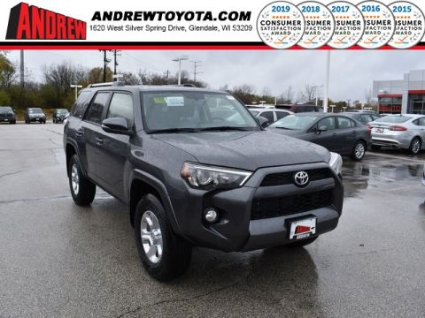 Stock #: 36948 Gray 2019 Toyota 4Runner SR5 Premium 4D Sport Utility in Milwaukee, Wisconsin 53209