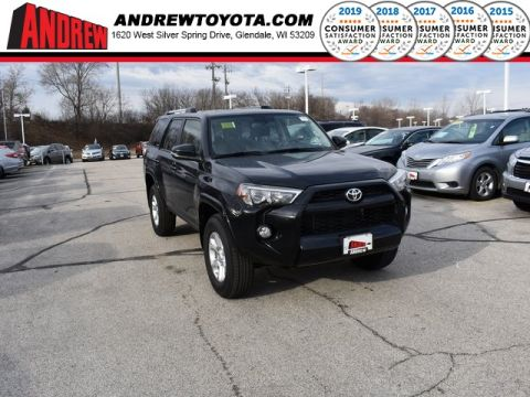 Stock #: 37315 Black 2019 Toyota 4Runner SR5 Premium 4D Sport Utility in Milwaukee, Wisconsin 53209