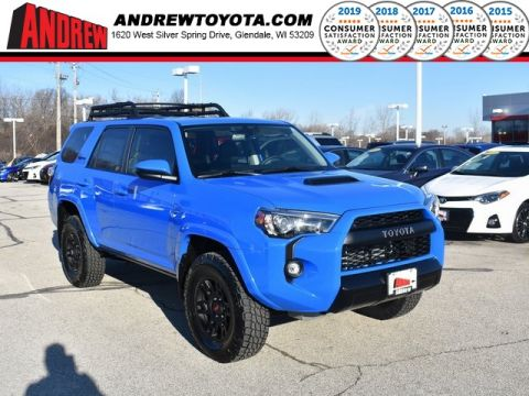 Stock #: 37726 Blue 2019 Toyota 4Runner TRD Pro 4D Sport Utility in Milwaukee, Wisconsin 53209