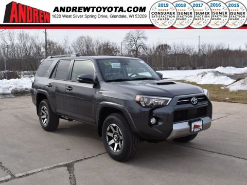 Stock #: 39169 Magnetic Gray Metallic 2020 Toyota 4Runner TRD Off-Road Premium 4D Sport Utility in Milwaukee, Wisconsin 53209