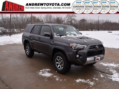 Stock #: 39064 Magnetic Gray Metallic 2020 Toyota 4Runner TRD Off-Road Premium 4D Sport Utility in Milwaukee, Wisconsin 53209