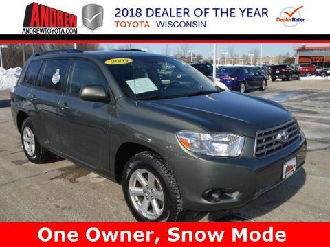Stock #: 37420A Green 2009 Toyota Highlander Base 4D Sport Utility in Milwaukee, Wisconsin 53209