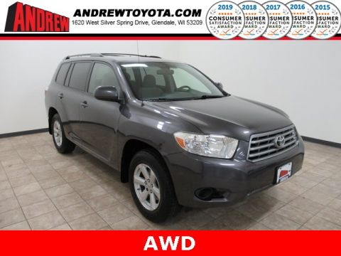 Stock #: TP1195A Gray 2008 Toyota Highlander Base 4D Sport Utility in Milwaukee, Wisconsin 53209