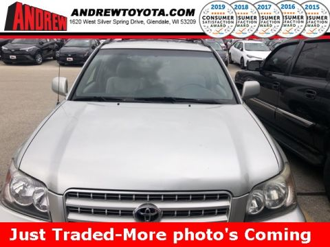 Stock #: 37650A Silver 2003 Toyota Highlander V6 4D Sport Utility in Milwaukee, Wisconsin 53209