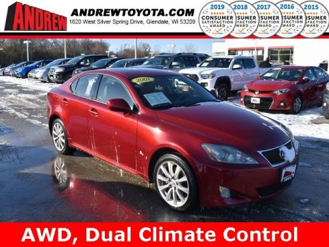 Stock #: 38054B Red 2007 Lexus IS 250 4D Sedan in Milwaukee, Wisconsin 53209