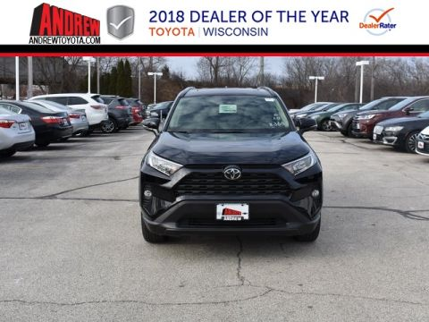 Stock #: 37493 Black 2019 Toyota RAV4 XLE Premium 4D Sport Utility in Milwaukee, Wisconsin 53209