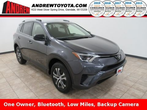 Stock #: TP1299 Blue 2017 Toyota RAV4 LE 4D Sport Utility in Milwaukee, Wisconsin 53209