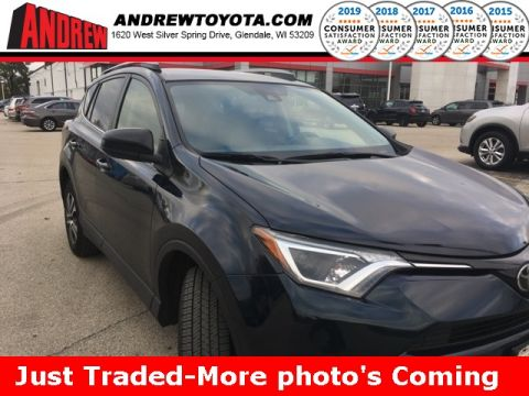 Stock #: 37776A Black 2017 Toyota RAV4 LE 4D Sport Utility in Milwaukee, Wisconsin 53209