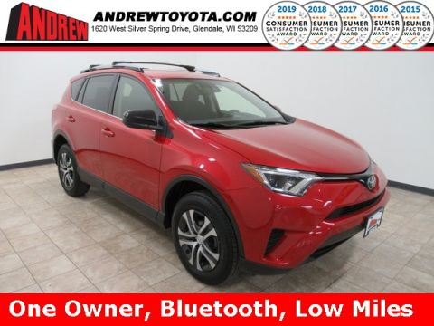 Stock #: TP1279 BARCELONA RED METALLIC 2017 Toyota RAV4 LE 4D Sport Utility in Milwaukee, Wisconsin 53209