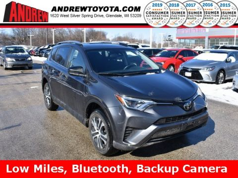 Stock #: 39098A Gray 2017 Toyota RAV4 LE 4D Sport Utility in Milwaukee, Wisconsin 53209