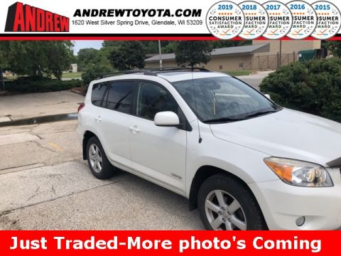 Stock #: 37774A White 2006 Toyota RAV4 Limited 4D Sport Utility in Milwaukee, Wisconsin 53209