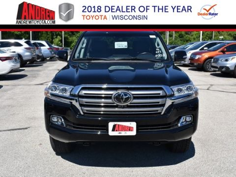 Stock #: 36517 Black 2018 Toyota Land Cruiser Base 4D Sport Utility in Milwaukee, Wisconsin 53209