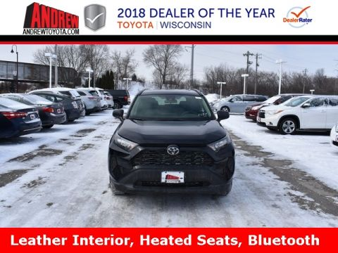 Stock #: 37502 Black 2019 Toyota RAV4 LE 4D Sport Utility in Milwaukee, Wisconsin 53209