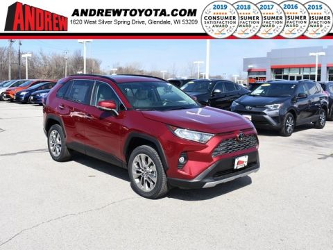 Stock #: 37737 Red 2019 Toyota RAV4 Limited 4D Sport Utility in Milwaukee, Wisconsin 53209