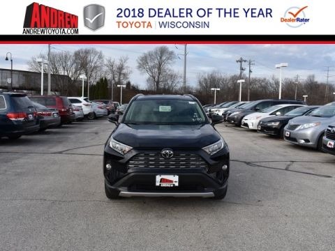 Stock #: 37372 Black 2019 Toyota RAV4 Limited 4D Sport Utility in Milwaukee, Wisconsin 53209