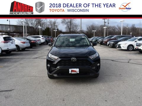 Stock #: 37491 Black 2019 Toyota RAV4 XLE 4D Sport Utility in Milwaukee, Wisconsin 53209