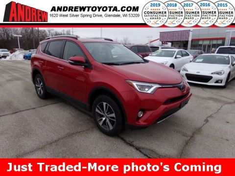 Stock #: TP1271 BARCELONA RED METALLIC 2017 Toyota RAV4 XLE 4D Sport Utility in Milwaukee, Wisconsin 53209