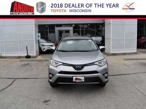 Stock #: 36630 Silver 2018 Toyota RAV4 XLE 4D Sport Utility in Milwaukee, Wisconsin 53209