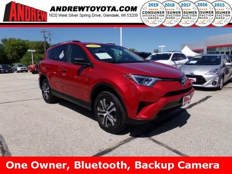 Stock #: 37585A Red 2016 Toyota RAV4 LE 4D Sport Utility in Milwaukee, Wisconsin 53209
