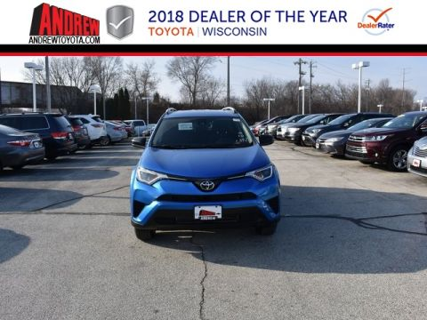 Stock #: 37357 Blue 2018 Toyota RAV4 LE 4D Sport Utility in Milwaukee, Wisconsin 53209