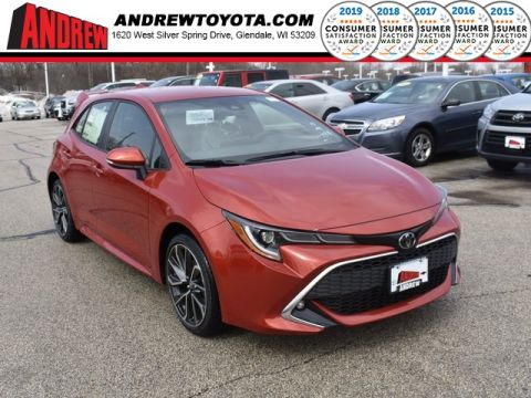 Stock #: 37615 Red 2019 Toyota Corolla Hatchback XSE 5D Hatchback in Milwaukee, Wisconsin 53209