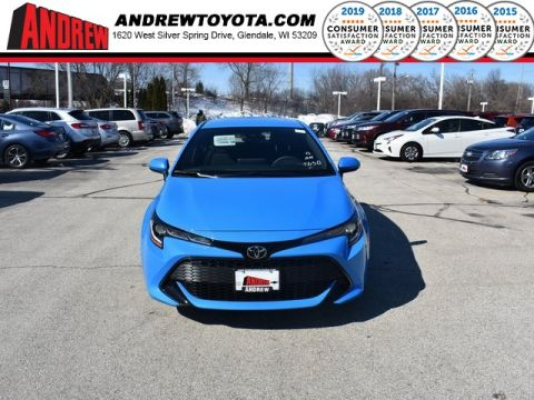 Stock #: 37646 Blue 2019 Toyota Corolla Hatchback SE 5D Hatchback in Milwaukee, Wisconsin 53209