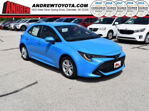 Stock #: 38304 Blue 2019 Toyota Corolla Hatchback SE 5D Hatchback in Milwaukee, Wisconsin 53209