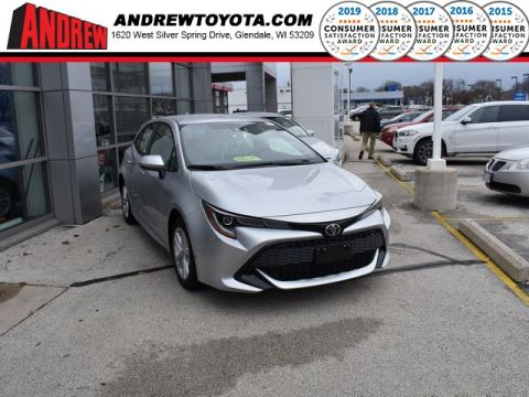 Stock #: 37265 Silver 2019 Toyota Corolla Hatchback SE 5D Hatchback in Milwaukee, Wisconsin 53209