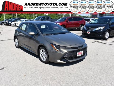 Stock #: 38303 Brown 2019 Toyota Corolla Hatchback SE 5D Hatchback in Milwaukee, Wisconsin 53209