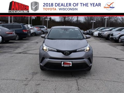 Stock #: 37141 Silver 2019 Toyota C-HR XLE 4D Sport Utility in Milwaukee, Wisconsin 53209