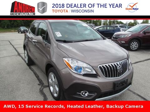 Stock #: TP9430 Brown 2015 Buick Encore Leather 4D Sport Utility in Milwaukee, Wisconsin 53209