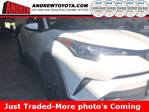 Stock #: TP9978A White 2019 Toyota C-HR Limited 4D Sport Utility in Milwaukee, Wisconsin 53209