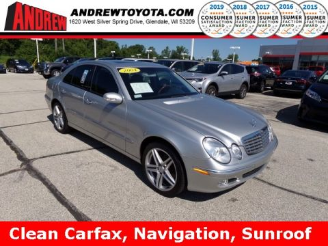 Stock #: 38138B Silver 2004 Mercedes-Benz E-Class E 320 4D Sedan in Milwaukee, Wisconsin 53209